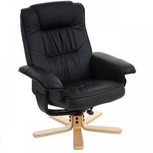 fauteuil pivotant bois achat vente fauteuil pivotant bois pas cher cdiscount. Black Bedroom Furniture Sets. Home Design Ideas
