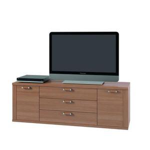 meuble tele noyer achat vente meuble tele noyer pas cher cdiscount. Black Bedroom Furniture Sets. Home Design Ideas