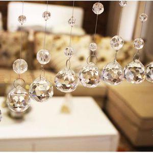 rideaux des perles de cristal achat vente rideaux des perles de cristal pas cher cdiscount. Black Bedroom Furniture Sets. Home Design Ideas