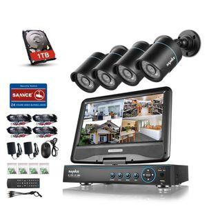 camera de surveillance exterieur avec ecran achat. Black Bedroom Furniture Sets. Home Design Ideas