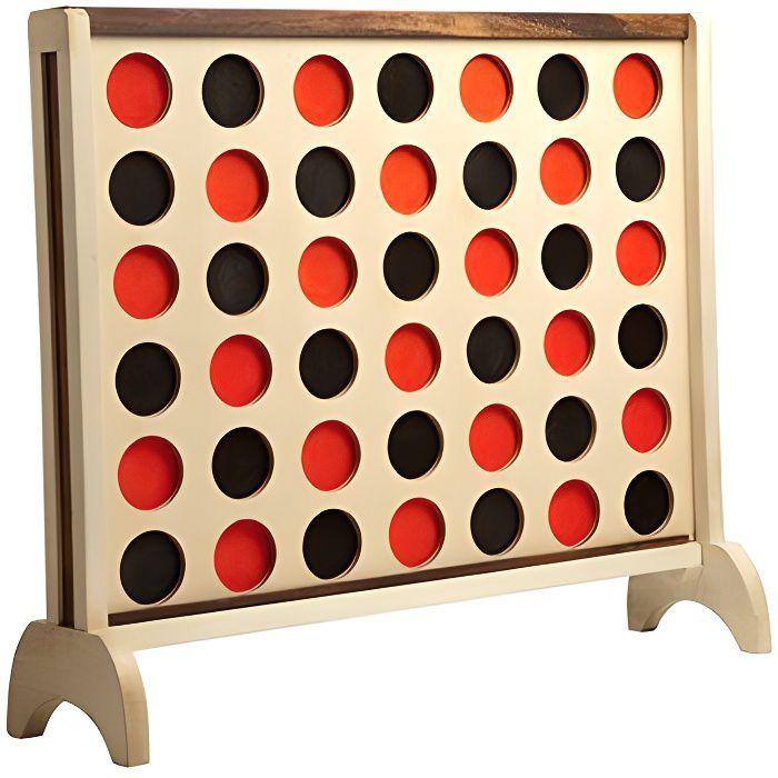 big 4 mango puissance 4 en bois achat vente jeu soci t plateau cdiscount. Black Bedroom Furniture Sets. Home Design Ideas