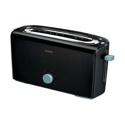 Grille pain philips hd2611 61 noir bleu achat vente grille pain toaster cdiscount - Grille pain cuisinart cpt160e ...