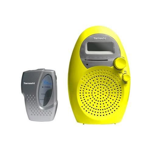Tamashi SR 28 P Radio portable pour salle de bain - radio cd ...