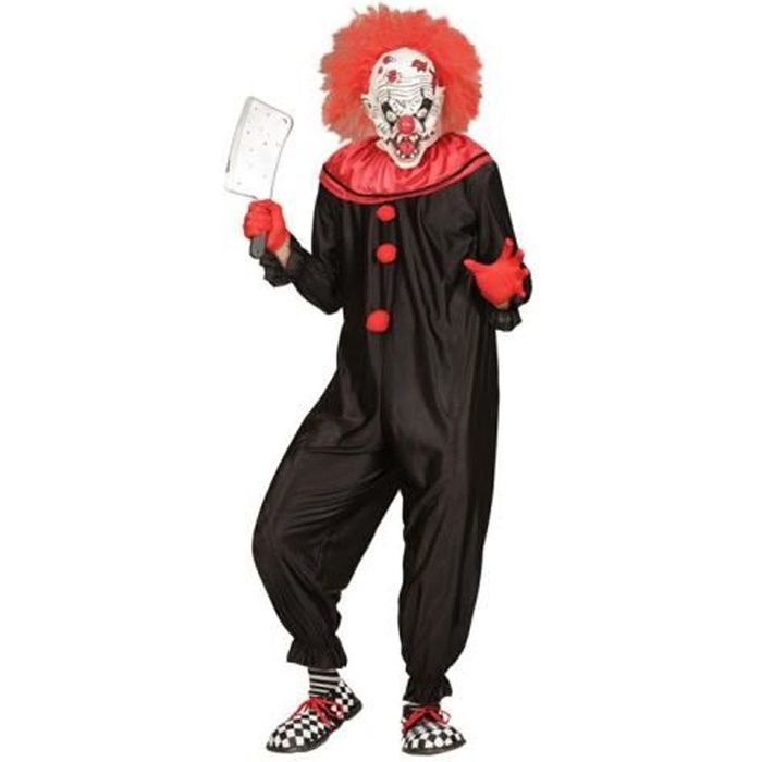 costume clown tueur halloween achat vente d guisement panoplie soldes cdiscount. Black Bedroom Furniture Sets. Home Design Ideas