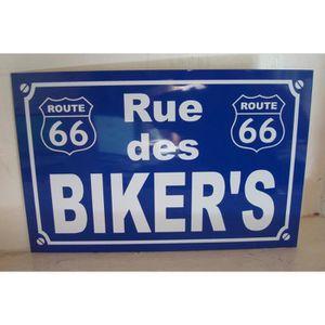 Deco route 66 achat vente deco route 66 pas cher for Decoration murale route 66