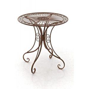 Table de jardin en fer forge achat vente table de for Clp annex 6 table 3 1