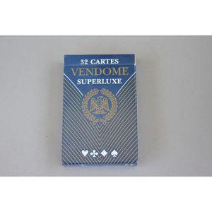 CARTES DE JEU Jeu de 32 cartes Vendôme SuperLuxe