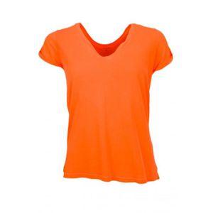 T-SHIRT T-shirt Ralph Lauren col V  pour femme