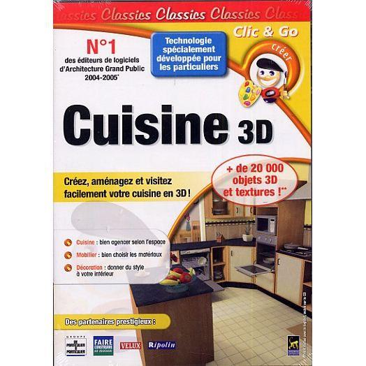 Cuisine 3d logiciel pc prix pas cher cdiscount for Logiciel 3d cuisine gratuit francais