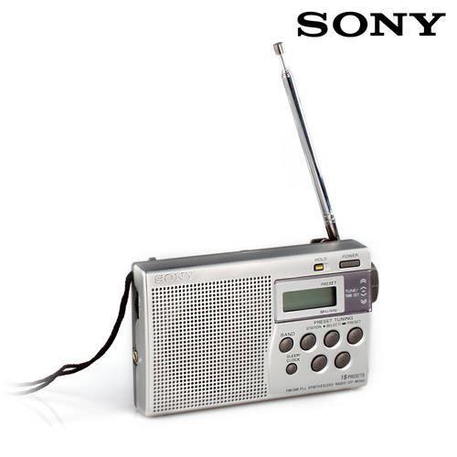 Radio num rique portable sony icfm260 radio cd cassette for Radio numerique portable