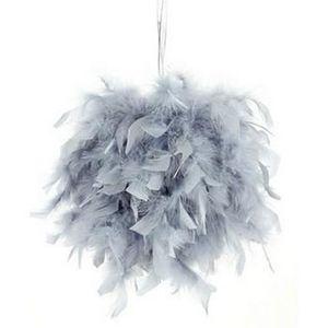 Boule a suspendre plumes achat vente boule a suspendre plumes pas cher cdiscount - Boule de polystyrene pas cher ...