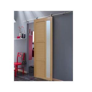 portes de placard coulissante achat vente portes de placard coulissante pas cher cdiscount. Black Bedroom Furniture Sets. Home Design Ideas