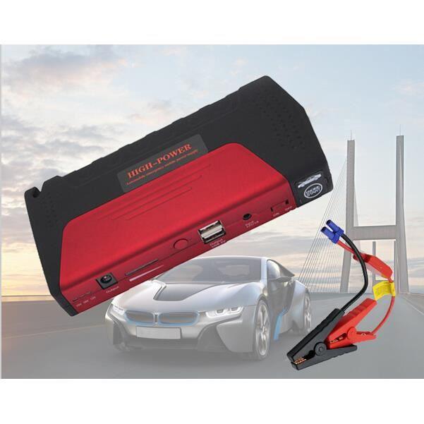 car jump starter 12v urgence 50800mah chargeur de batterie. Black Bedroom Furniture Sets. Home Design Ideas