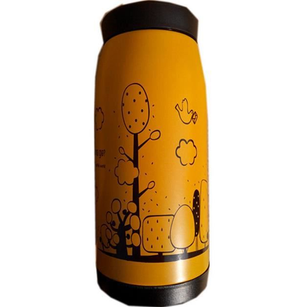 Thermos bouteille d 39 eau caf en acier inoxydable forme - Thermos a cafe ...