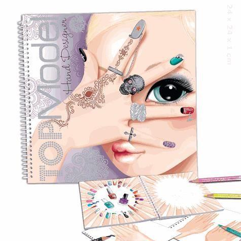Top model album coloriage styliste achat vente livre - Dessin top model ...