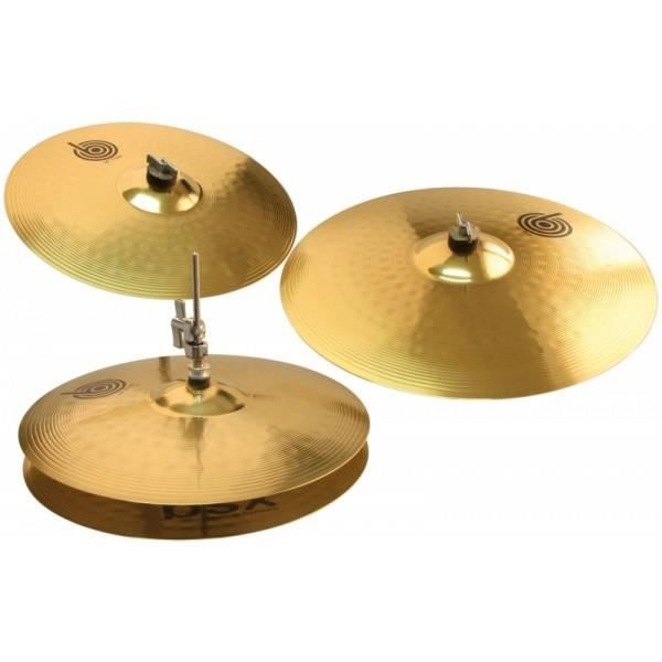 set de 3 cymbales pas cher achat vente cymbale pour. Black Bedroom Furniture Sets. Home Design Ideas