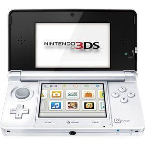 CONSOLE 3DS CONSOLE NINTENDO 3DS BLANC ARCTIQUE