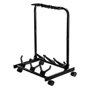 PIED - STAND Rocktile Multistand Stand de 3 Guitares avec ro...