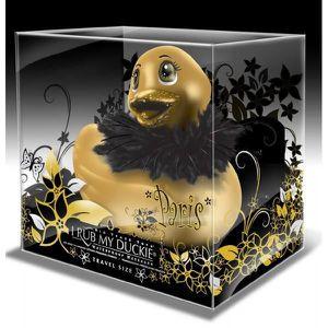 CANARD VIBRANT mini canard vibrant PARIS de voyage or doré avec b