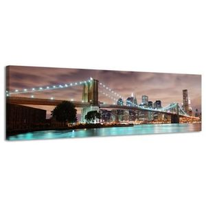 Tableau toile new york achat vente tableau toile new - Tableau new york led ...