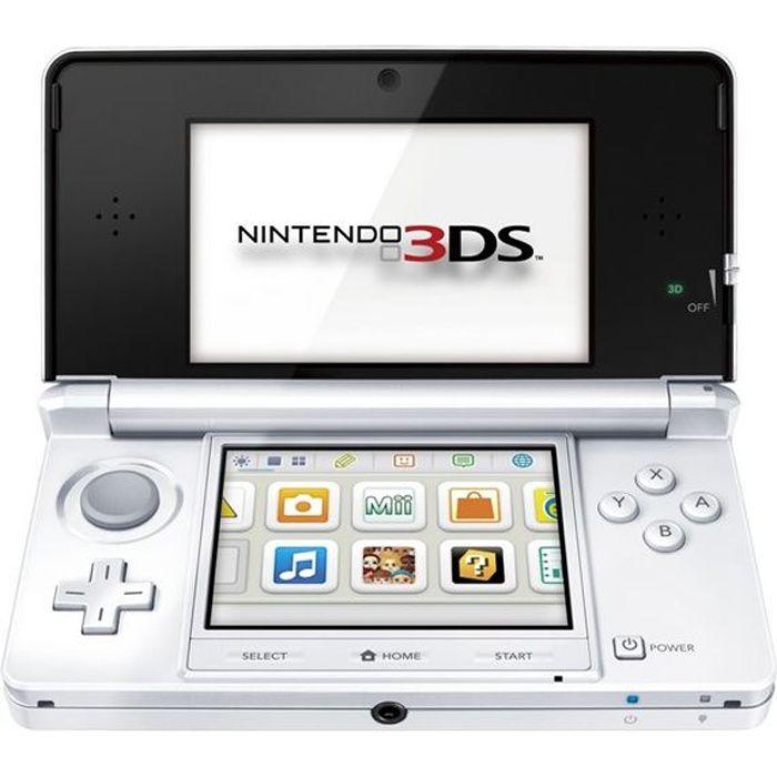 Console nintendo 3ds blanc arctique achat vente console 3ds console nintendo 3ds blanc - List of nintendo ds consoles ...