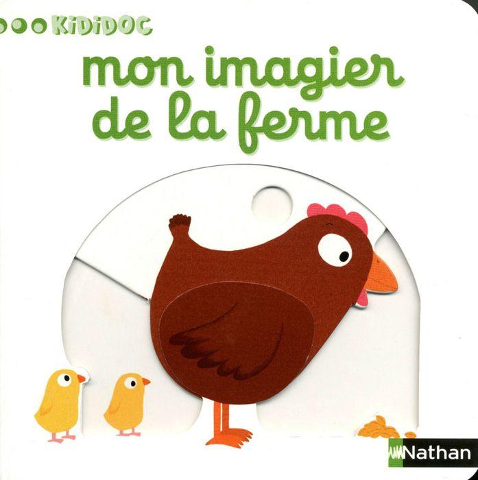 Mon imagier de la ferme achat vente livre nathalie - Imagier animaux de la ferme ...