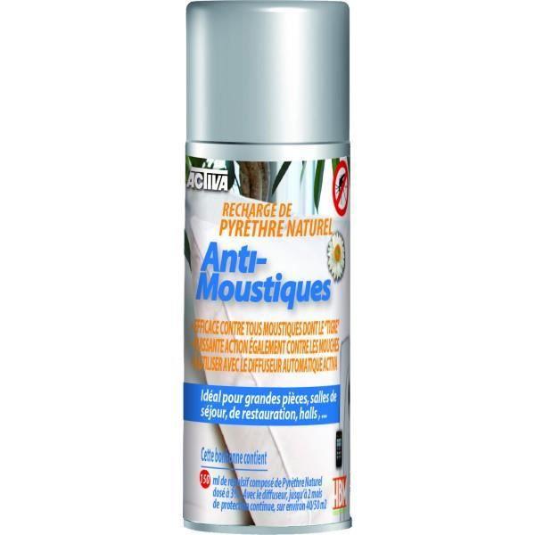 Recharge De Pyr Thre Anti Moustique Naturel 150 Ml Achat