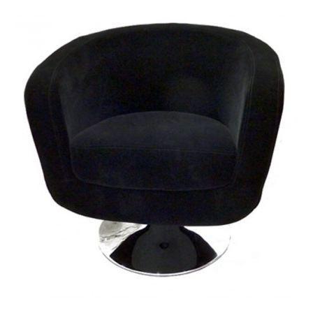 fauteuil de bar velours noir achat vente fauteuil. Black Bedroom Furniture Sets. Home Design Ideas