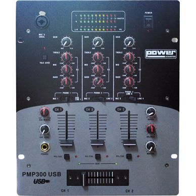 table de mix power pmp 300 10 entrees avec usb table de mixage prix pas cher cdiscount. Black Bedroom Furniture Sets. Home Design Ideas