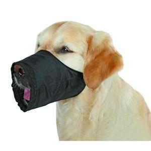 TRIXIE Museli?re polyester M noir pour chien