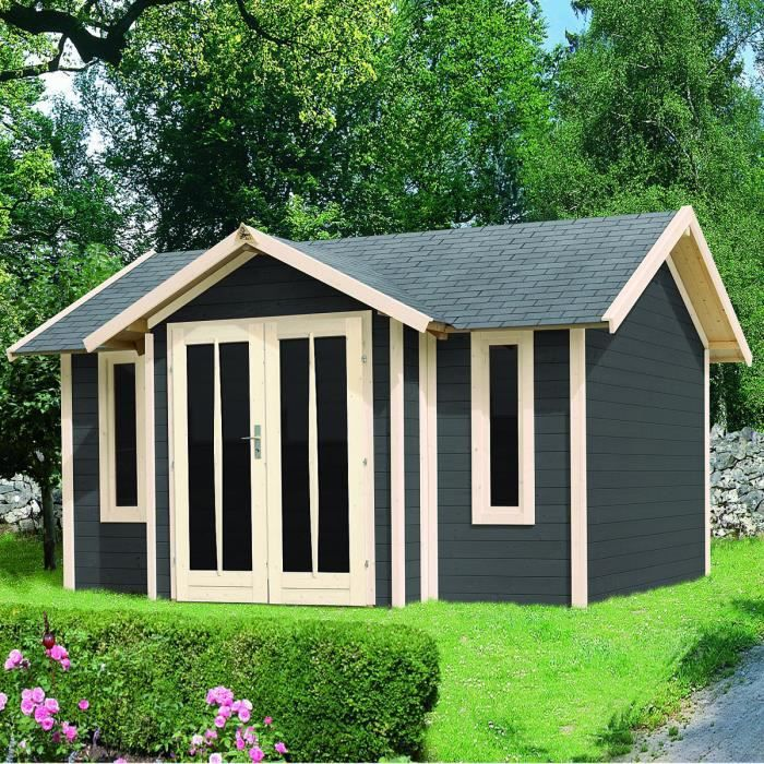 Abri de jardin bois m2 stromsund 28mm l achat for Abri bois soldes