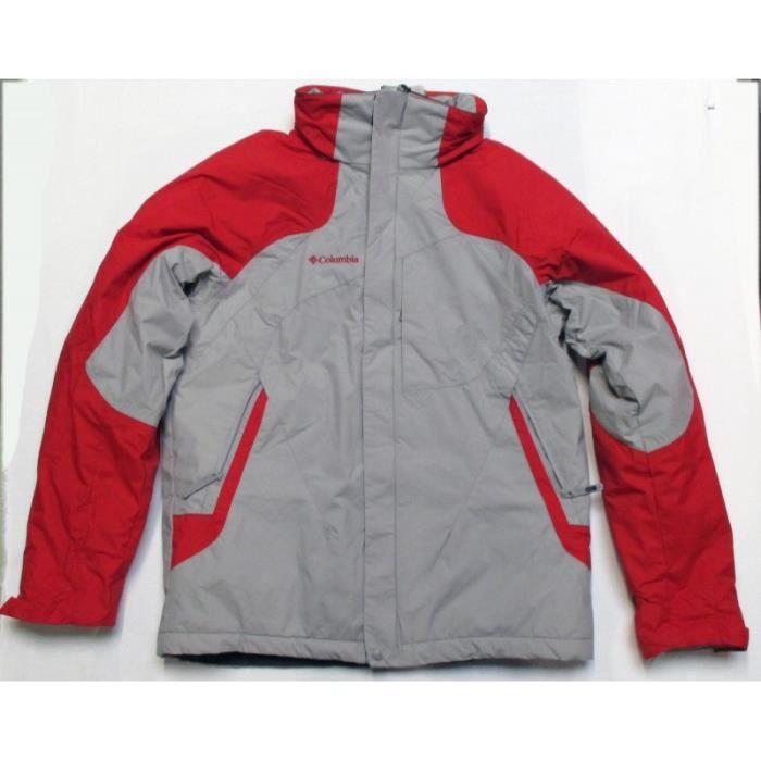 veste de ski homme rouge achat vente pas cher cdiscount. Black Bedroom Furniture Sets. Home Design Ideas