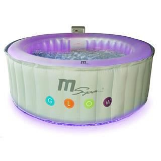 Spa gonflable mspa oasis glow lite rond 180 x achat vente spa comple - Spa gonflable discount ...