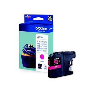Brother LC123M Cartouche d`encre Magenta