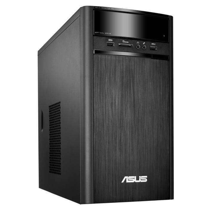 asus pc de bureau k31ade fr023t 4go de ram windows 10 intel core i3 hd graphics 4400. Black Bedroom Furniture Sets. Home Design Ideas