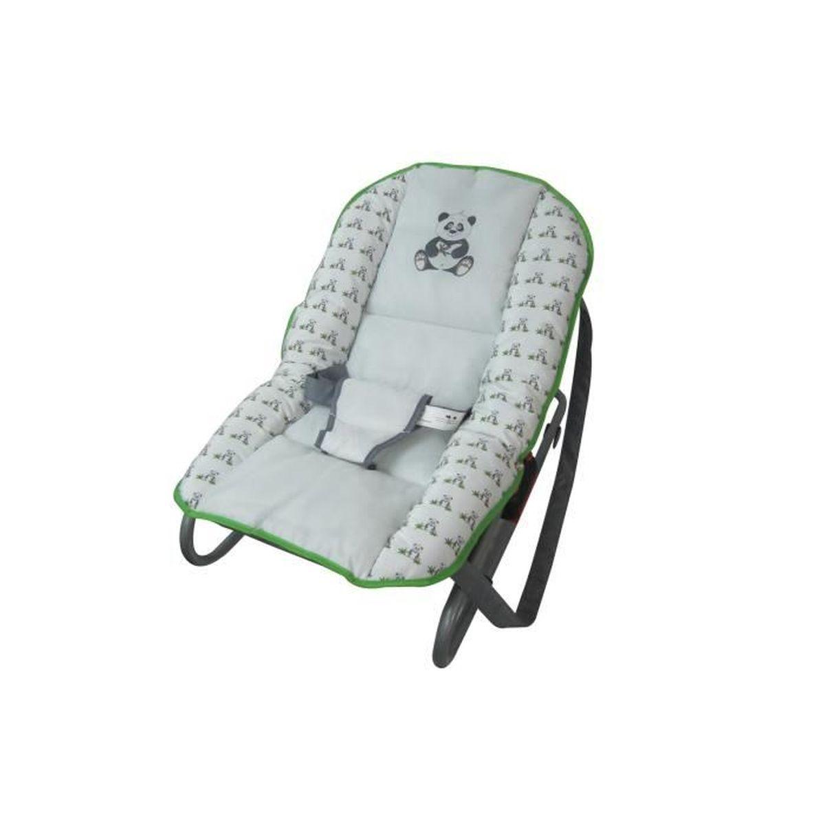 transat relax b b th me panda achat vente transat balancelle 5420044809240 soldes. Black Bedroom Furniture Sets. Home Design Ideas