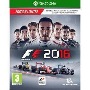 JEUX XBOX ONE F1 2016 Edition Day One Jeu Xbox One
