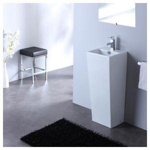 evier sur pied achat vente evier sur pied pas cher cdiscount. Black Bedroom Furniture Sets. Home Design Ideas
