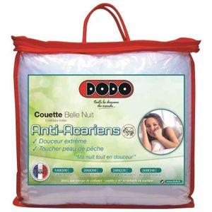 COUETTE DODO Couette tempérée 350 gr/m² BELLE NUIT 240x260