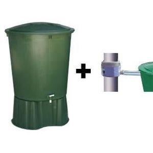 kit 1 cuve de r cup ration d eau de pluie achat vente collecteur eau cuve kit filtrabio. Black Bedroom Furniture Sets. Home Design Ideas