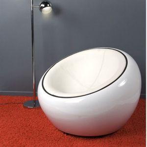 fauteuil boule achat vente fauteuil boule pas cher cdiscount. Black Bedroom Furniture Sets. Home Design Ideas