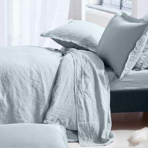 housse de couette 240x260 lin achat vente housse de. Black Bedroom Furniture Sets. Home Design Ideas