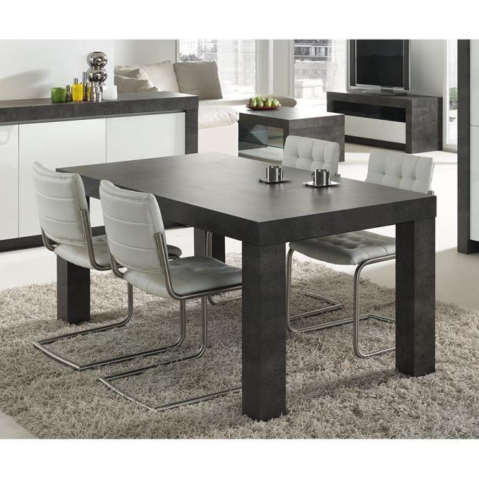 table manger gris effet b ton cir moderne murilo table. Black Bedroom Furniture Sets. Home Design Ideas