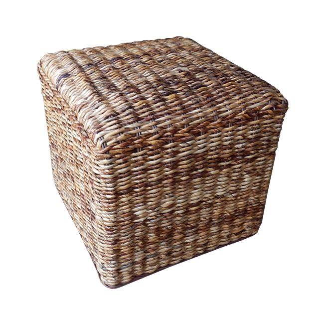 tabouret pouf bananier tress achat vente pouf poire. Black Bedroom Furniture Sets. Home Design Ideas