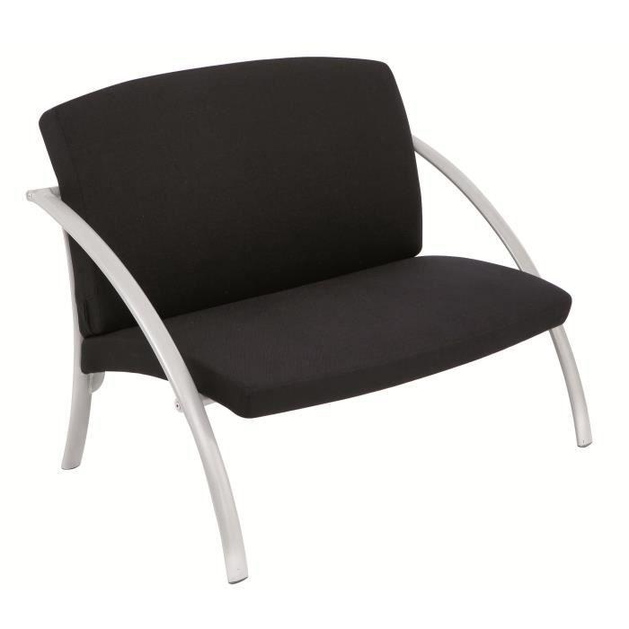 fauteuil moderne design en acier gris m tal achat vente fauteuil acier m tal cdiscount. Black Bedroom Furniture Sets. Home Design Ideas