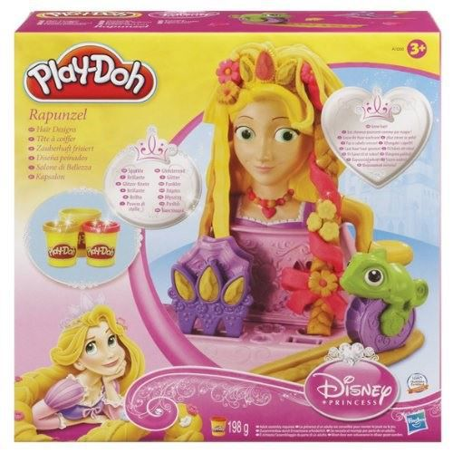 play doh t 234 te a coiffer raiponce achat vente p 226 te 224 modeler cdiscount