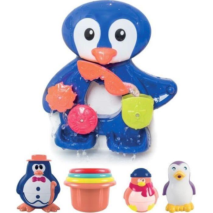 Ludi coffret de bain pingouin achat vente jouet de for Coffret salle de bain