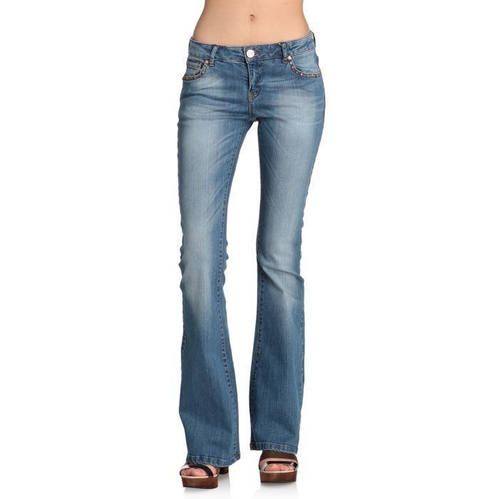 alcott jean bootcut femme stone achat vente jeans. Black Bedroom Furniture Sets. Home Design Ideas