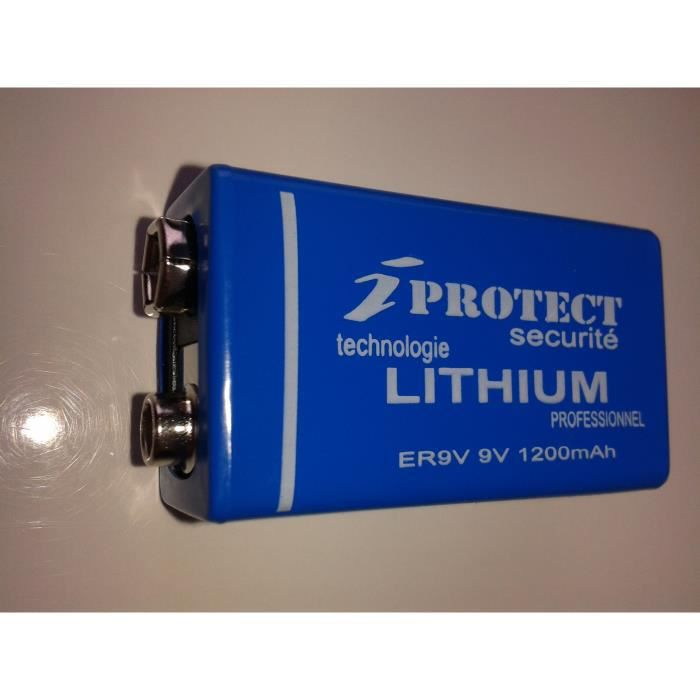 Piles lithium 9v - Pile 9v rechargeable ...
