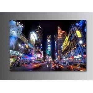 Tableaux toile d co new york 11340844 dimensions 80x60cm for Tableau toile new york